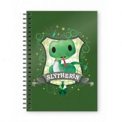 Libreta Slytherin chibi, Harry Potter