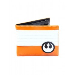 Cartera The Resistance, naranja y blanco, Star Wars