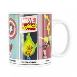 Taza Marvel Cómics, térmica, Marvel