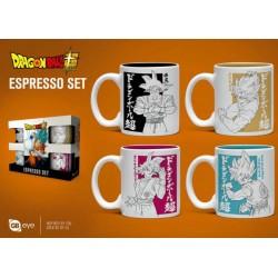 Set tazas café Son Goku, Dragon Ball