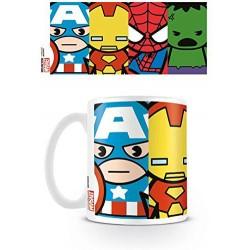 Taza Vengadores Chibi, Marvel