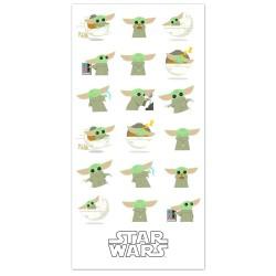Baby Yoda, The Mandalorian, Star Wars, toalla
