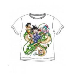 Camiseta Dragon Ball, infantil, Goku Shenron