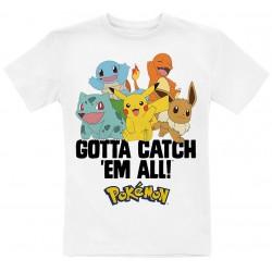 Camiseta niño Pokemon