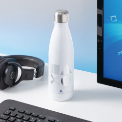 Botella metálica PlayStation