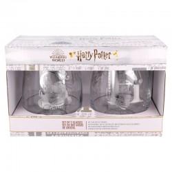 Pack vasos cristal, Harry Potter