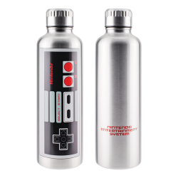 Botella metálica Nintendo