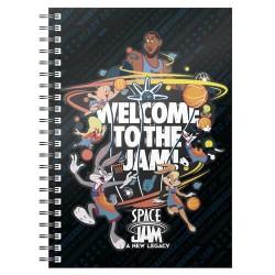 Libreta Space Jam, Welcome to the Space Jam, Looney Tunes