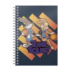 Libreta Space Jam, Bugs y Lola Bunny, Looney Tunes
