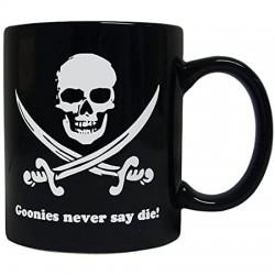 Taza Los Goonies, Never say...