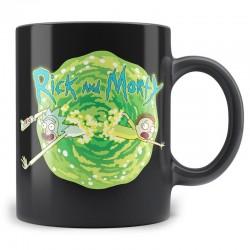 Taza Rick y Morty, logo
