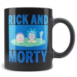 Taza Rick y Morty, cabezas portal