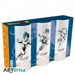 Set 3 vasos Dragon Ball Super