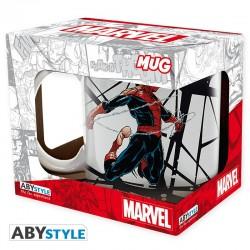 Taza Spiderman telaraña