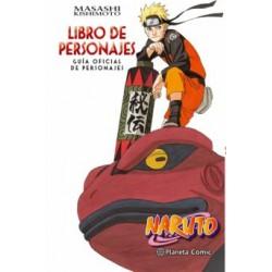 Guía personajes oficial, Naruto
