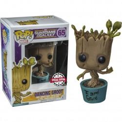 Funko Pop Groot Dancing, ed. especial, Marvel
