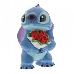 Figura Stitch, ramo flores, Lilo y Stitch, Disney