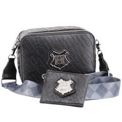 Bolso bandolera y monedero Hogwarts, Harry Potter