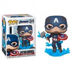 Funko Pop Capitán America 573, Marvel