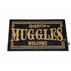 Felpudo Welcome Muggles, Harry Potter
