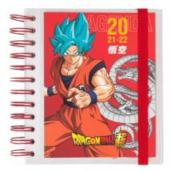 Agenda Dragon Ball escolar 2021/202, día página