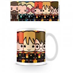 Taza Harry Potter personajes Kawaii