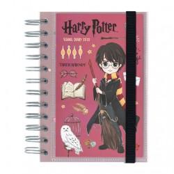 Agenda Harry Potter escolar 2021/2022 día página