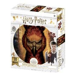 Puzzle lenticular Fawkes, Harry Potter, 300 piezas