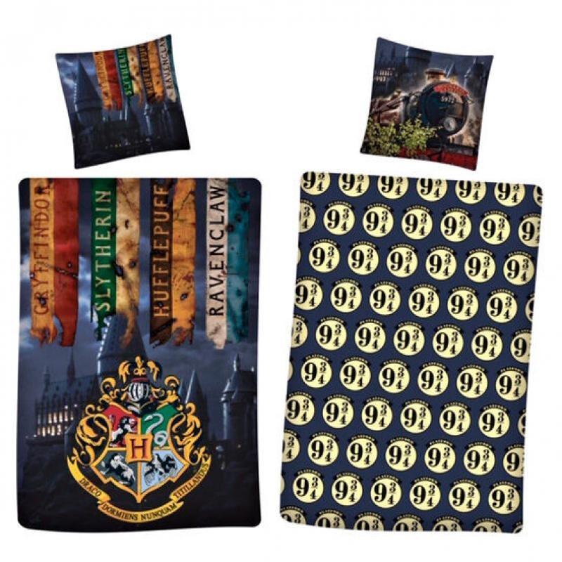 Funda nórdica Hogwarts, Harry Potter cama de 90