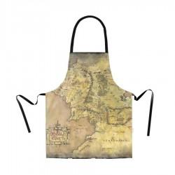 Delantal El Señor de los Anillos, mapa