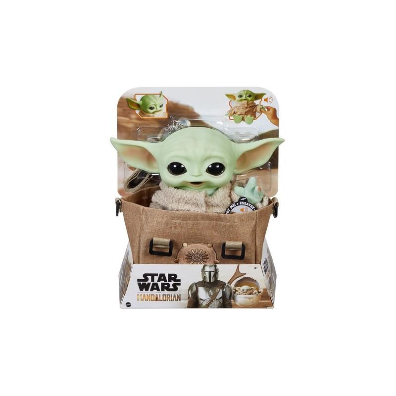 Peluche Baby Yoda con sonido, The Mandalorian