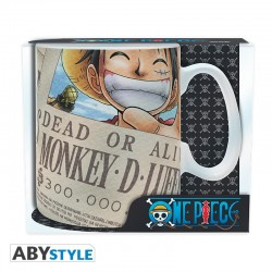 Taza Luffy Wanted One Piece