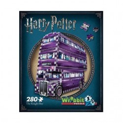 Puzzle 3D Autobús Noctámbulo (280 piezas)