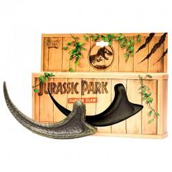 Réplica garra de raptor, Jurassic Park