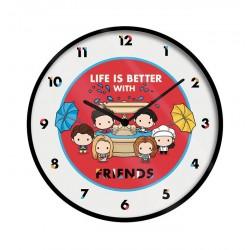 Reloj de pared Friends