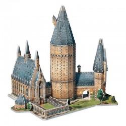 Puzzle 3D Gran Salón Hogwarts (850piezas), Harry Potter