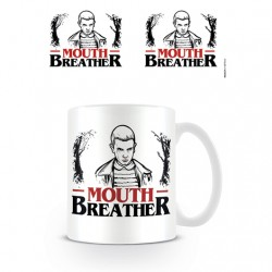 Taza Stranger Things, Mouth Breather