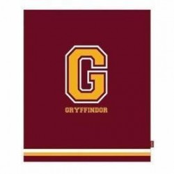 "Manta granate Gryffindor ""G"""", Harry Potter"""