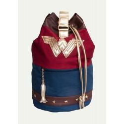 Mochila Wonder Woman tipo saco