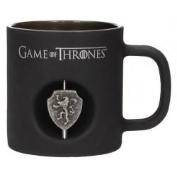 Taza Lannister emblema giratorio Juego de Tronos