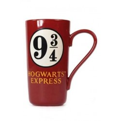 Taza latte andén 9 3/4, Harry Potter