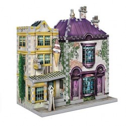 Puzzle 3D Tienda Madam Malkin (290 piezas), Harry Potter