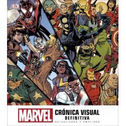 Libro: Marvel Crónica Visual Definitiva