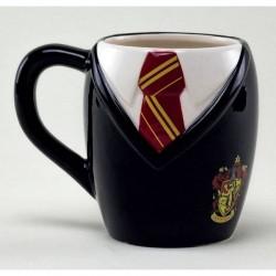 Taza uniforme Gryffindor 3D, Harry Potter