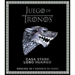 Máscara 3D, Lobo Stark, Juego de Tronos