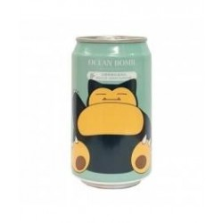 Lata Snorlax, Agua Soda sabor Uva, Pokémon