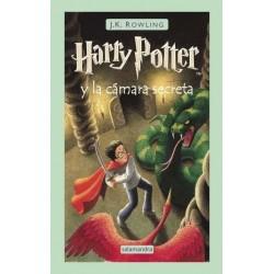Libro: Harry Potter y la Cámara secreta.