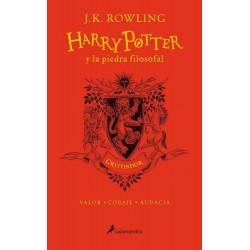 Libro - Harry Potter y la Piedra Filosofal, 20 Aniversario, Ed. Gryffindor