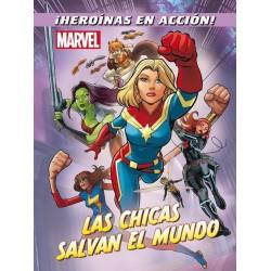 Libro: Las chicas salvan el mundo, Marvel