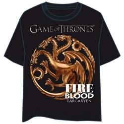 Camiseta Logo Targaryen